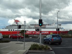 The ferry we DIDN'T take to Tasmania