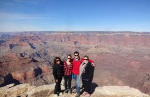Canyon Rim Kim, Katy, me, and Sarah