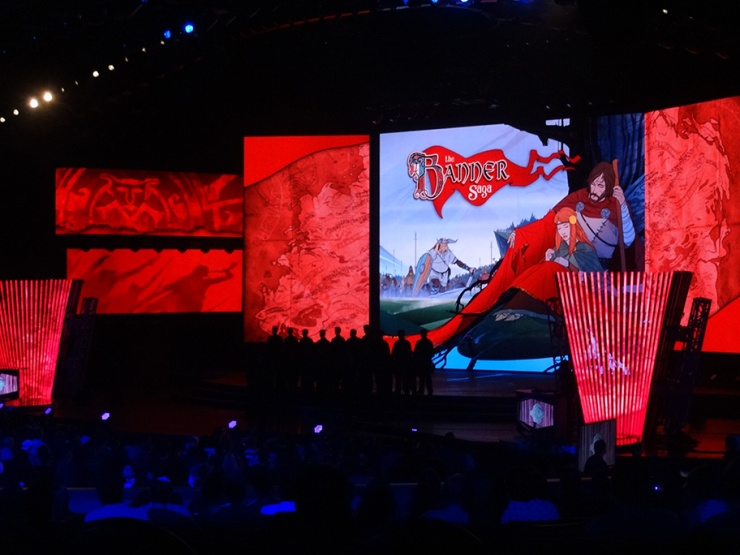 Announcing The Banner Saga 2 on the big stage!