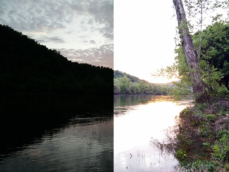 No clue how I took these two identical pictures at different times